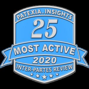 Patexia - IPR - 25 Most Active