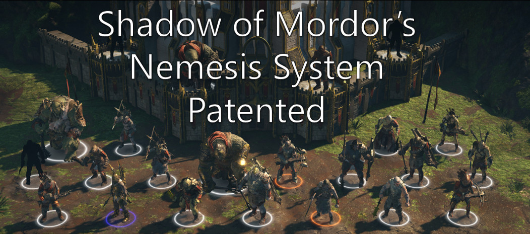 Shadow of Mordor Nemesis System Patented